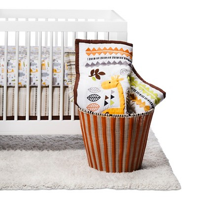 NoJo Zoobilee 4 Piece Crib Bedding Set