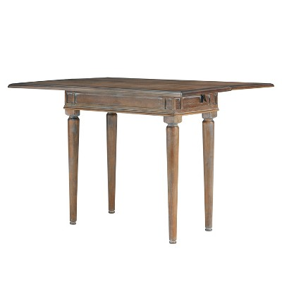 Ladena Convertible Console To Dining Table White Limed Burnt Oak - Aiden Lane  Target  sc 1 st  Target & Ladena Convertible Console To Dining Table White Limed Burnt Oak ...
