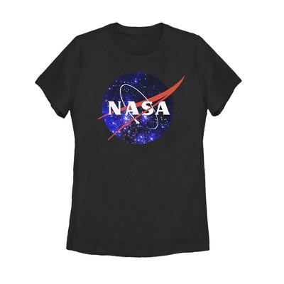 Women's NASA Milky Way Logo T-Shirt