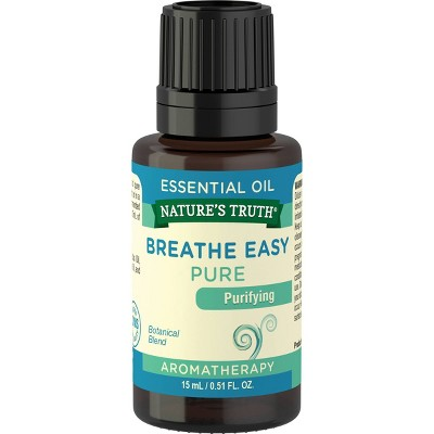Natures Truth Breathe Easy Essential Oil - 0.51 fl oz