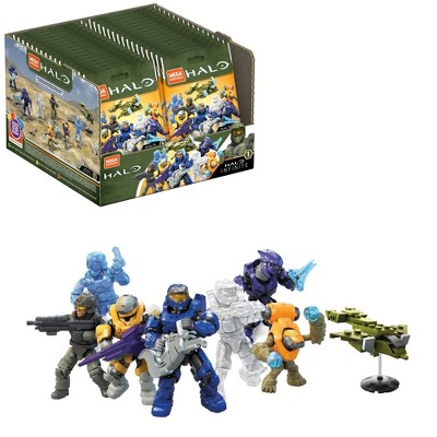 Mega Constux HALO Micro Action Figure Assortment Construction Set