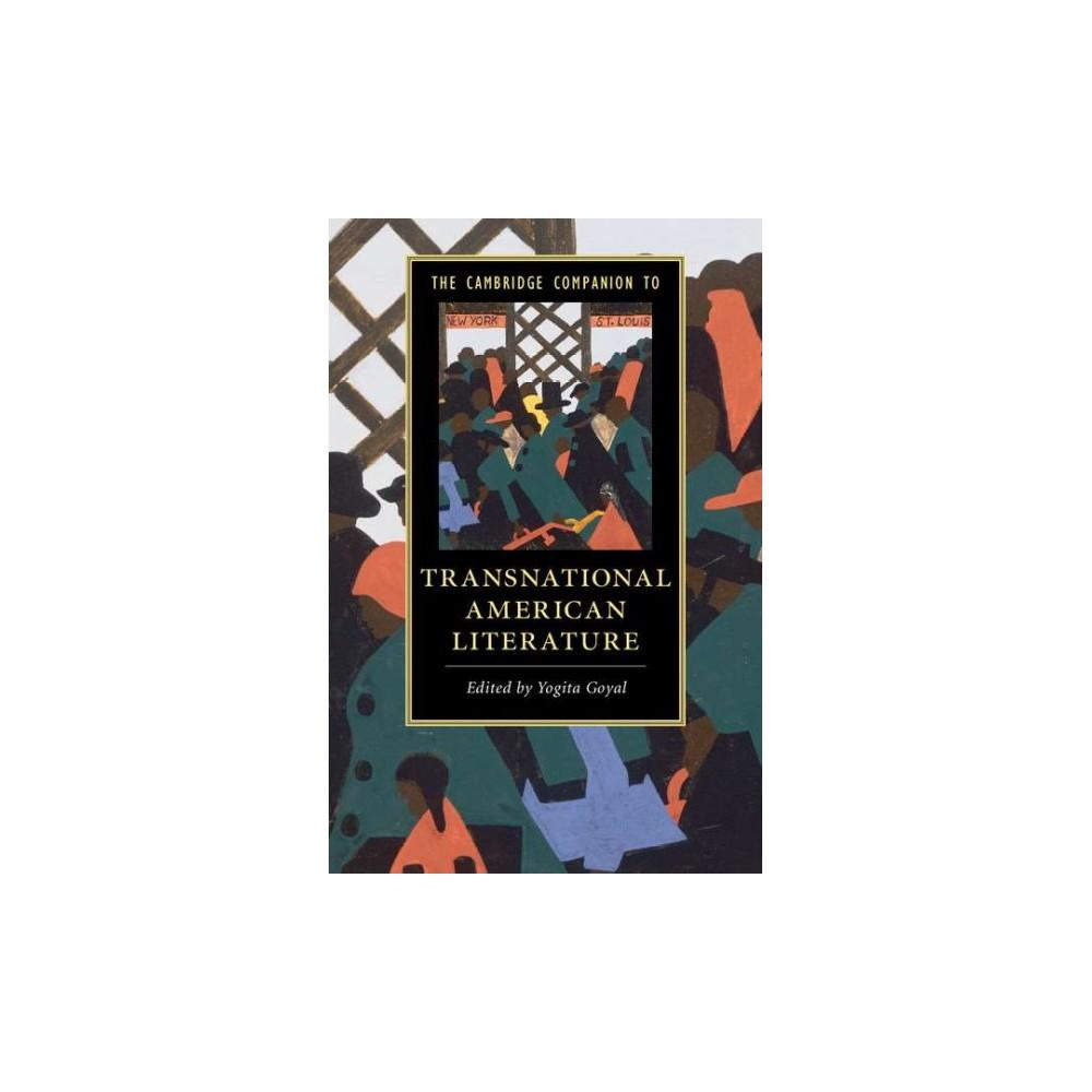 Cambridge Companion to Transnational American Literature (Paperback)