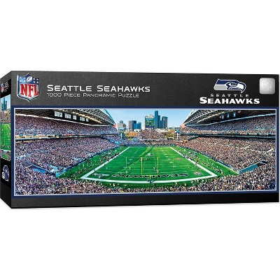 MasterPieces Inc Seattle Seahawks Stadium NFL 1000 Piece Panoramic Jigsaw Puzzle