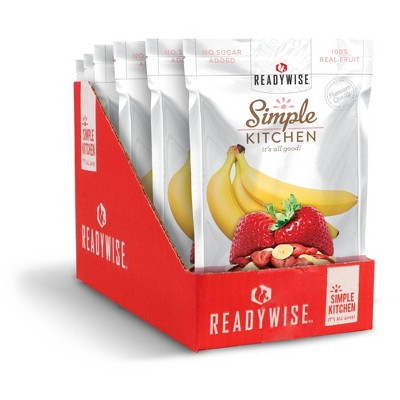 READYWISE Gluten Free Simple Kitchen Strawberries & Bananas - 6oz/ct