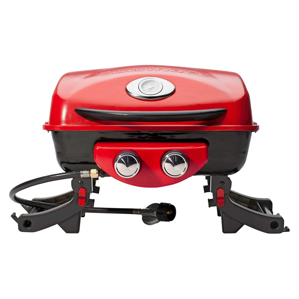 Image of Cuisinart Dual Blaze Two Burner Gas Grill - Red