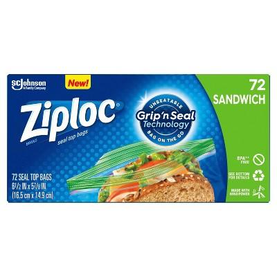 Food Storage Bags: Ziploc Storage