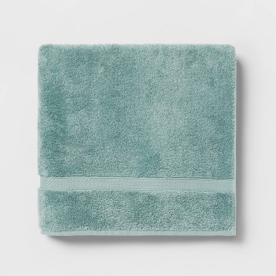 Soft Solid Bath Towel Dusty Jade - Opalhouse™