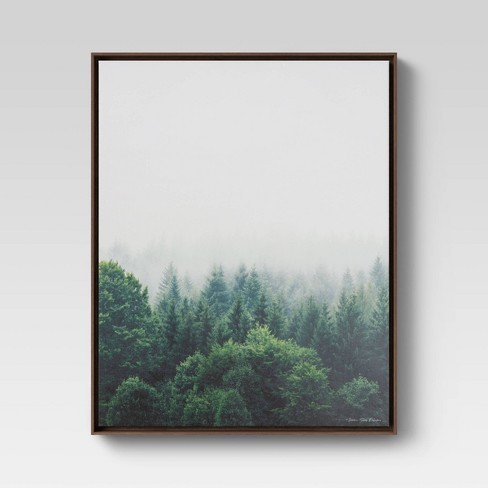 "24""x30"" Forest Framed Wall Canvas - Threshold™ - image 1 of 4"