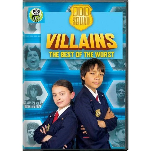Odd Squad: Villains The Best of the Worst (DVD) - image 1 of 1
