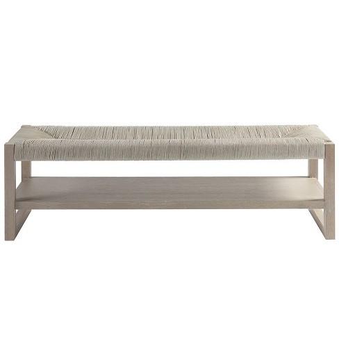 Bedroom Bench in Gray - Universal Furniture