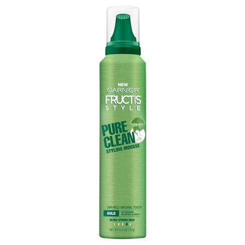 Garnier Fructis Style Ultra Strong Hold Pure Clean Styling Mousse - 6.4oz - image 1 of 2