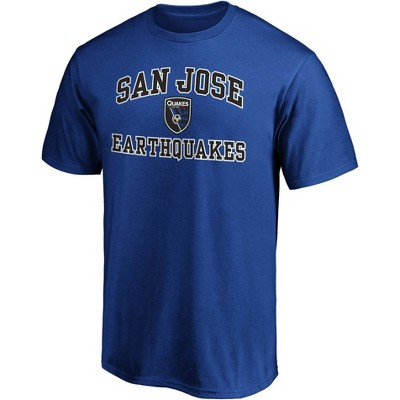 MLS San Jose Earthquakes Men's Short Sleeve Crew Neck Core T-Shirt