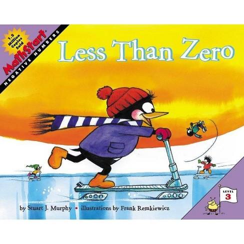 Less Than Zero - (Mathstart 3) by  Stuart J Murphy (Paperback) - image 1 of 1