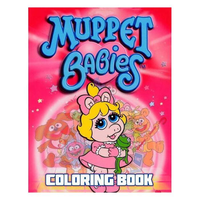 Muppet Babies Coloring Book - by  Lara Salt (Paperback) - image 1 of 1