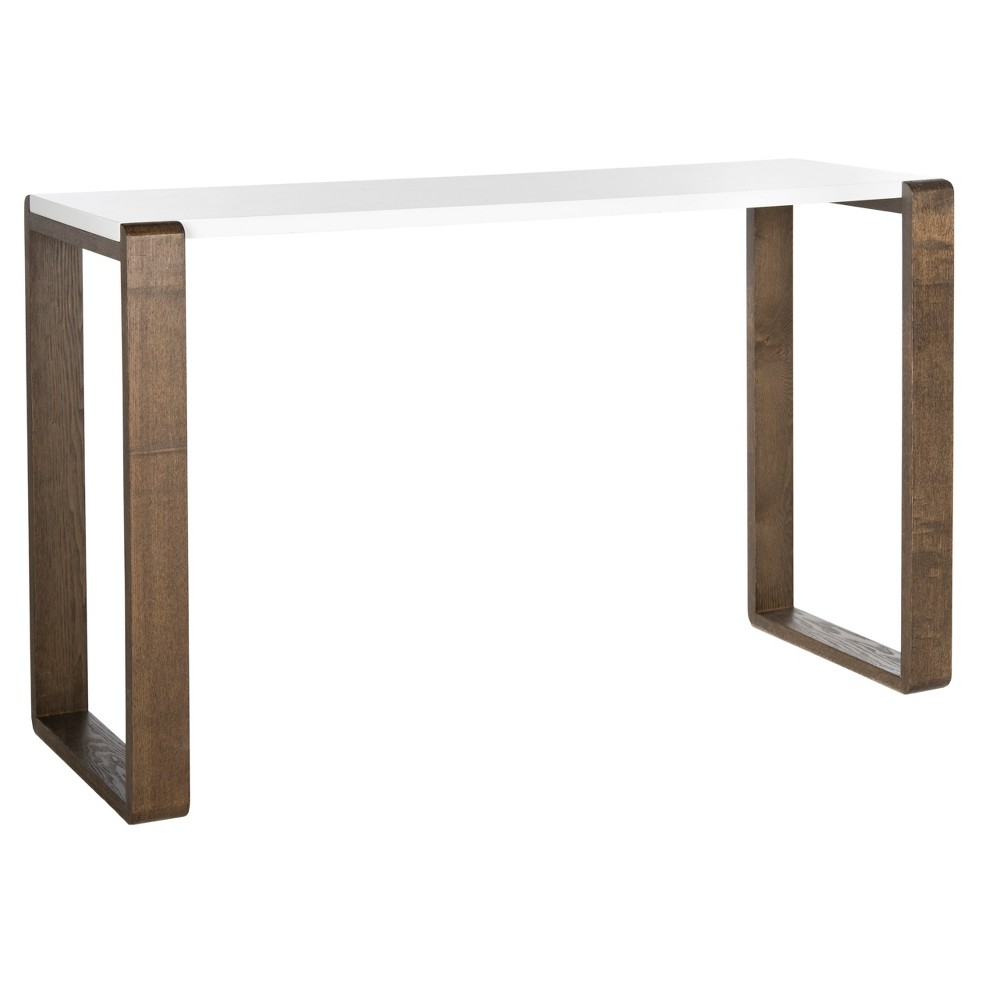 Bartholomew Console Table - Brown - Safavieh