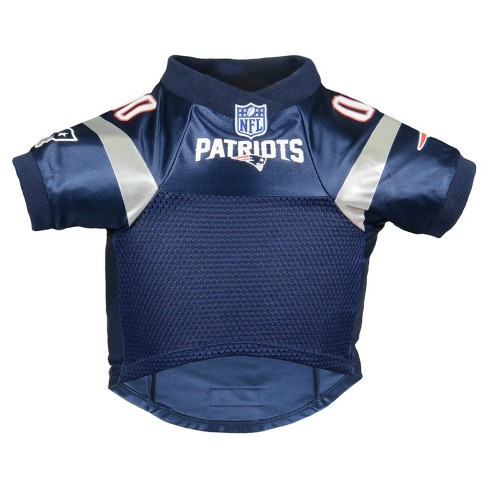free shipping e3d4f 3306a New England Patriots Little Earth Pet Premium Football Jersey - Navy XL