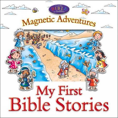 My First Bible Stories - (Candle Bible for Toddlers) by Juliet David  (Board_book)