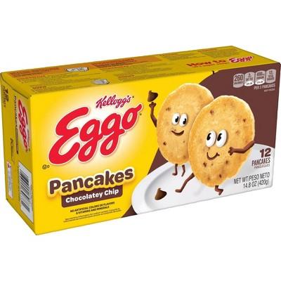 Kellogg's Eggo Frozen Chocolate Chip Pancakes - 14.8oz/12ct