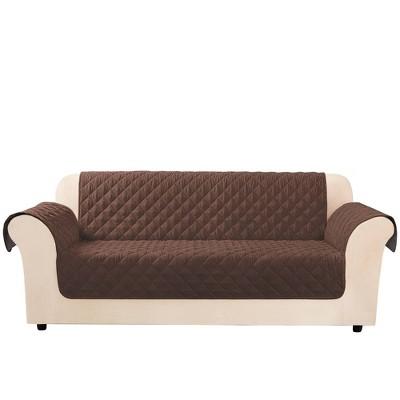 Microfiber Non-Slip Sofa Furniture Protector - Sure Fit