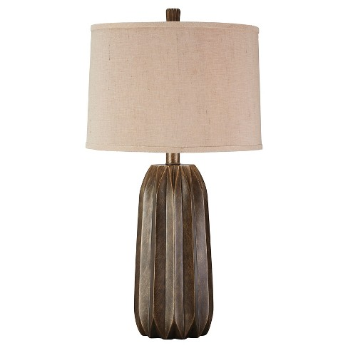Khalil Table Lamp Gray (Lamp Only) - Signature Design by Ashley - image 1 of 3