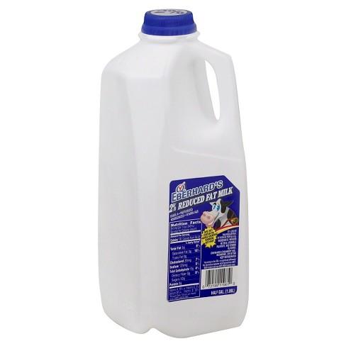 Eberhard's 2% Milk - 0.5gal - image 1 of 1