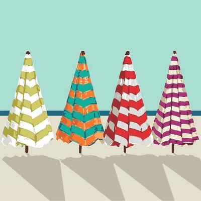 Thirstystone Beach Umbrellas Occasions Trivet