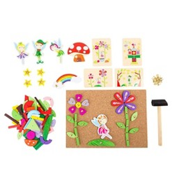 Small Foot Wooden Toys Hammer Arts And Crafts Fairy Playset