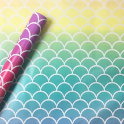 Mermaid Scales Paper Gift Wrap - Spritz™