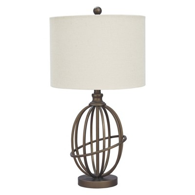 Manasa Metal Table Lamp Antique Brass (Lamp Only)- Signature Design by Ashley