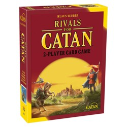 The Rivals for Catan Strategy Card Game