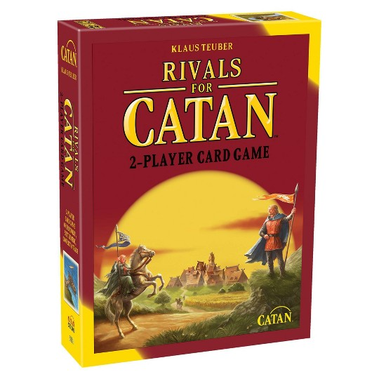 The Rivals for Catan Strategy Card Game image number null