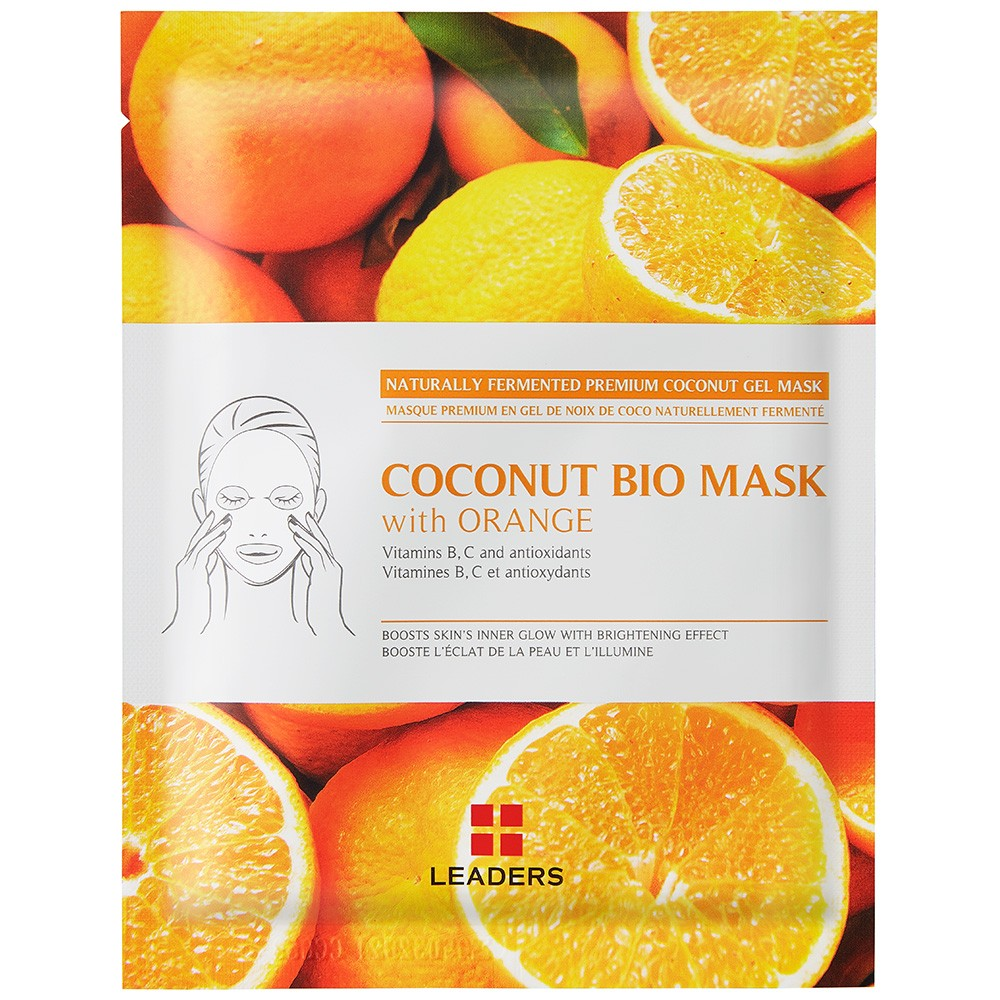Image of Leaders Coconut Gel Face Mask with Orange - 30ml