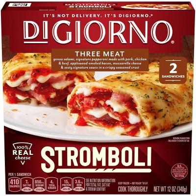 DiGiorno Three Meat Frozen Stromboli - 12oz
