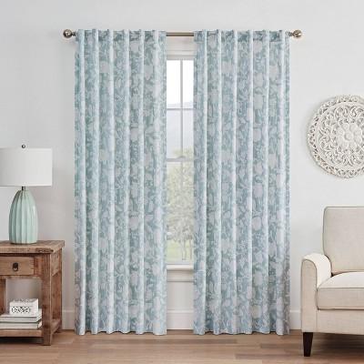 Stencil Vine Window Curtain - Waverly