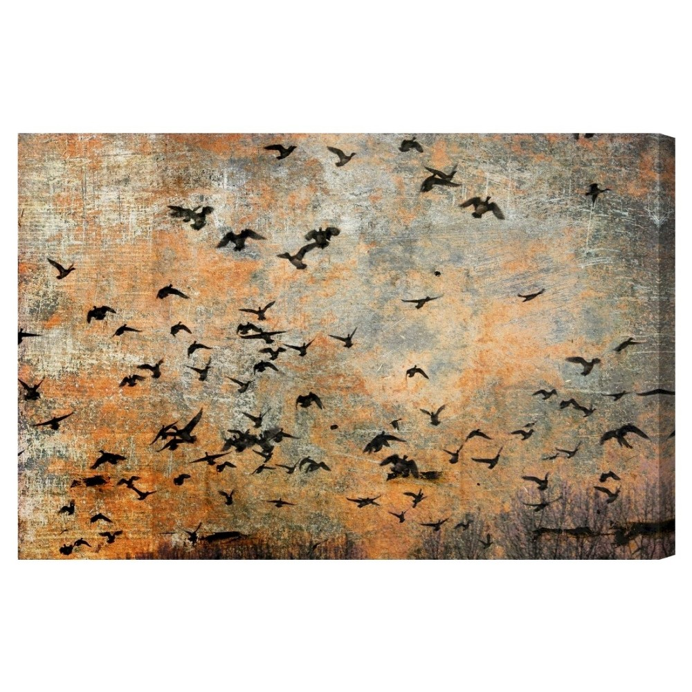 """Image of """"Oliver Gal Unframed Wall """"""""Louisiana Matinee"""""""" Canvas Art (24x16), Multi-Colored"""""""