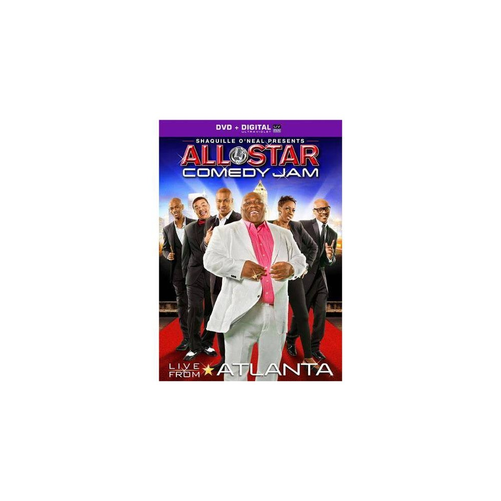 All Star Comedy Jam Shaquille O Neal Presents Live From Atlanta Dvd