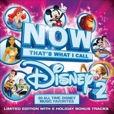 NOW Disney 2 (Ltd) (Deluxe) (CD)