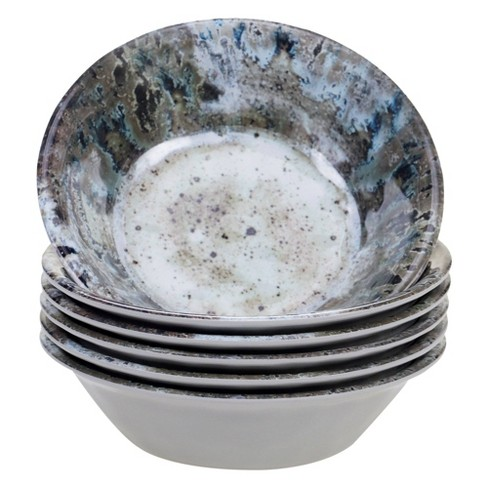 22oz 6pk Radiance Cream Melamine All Purpose Bowls - Certified International - image 1 of 1