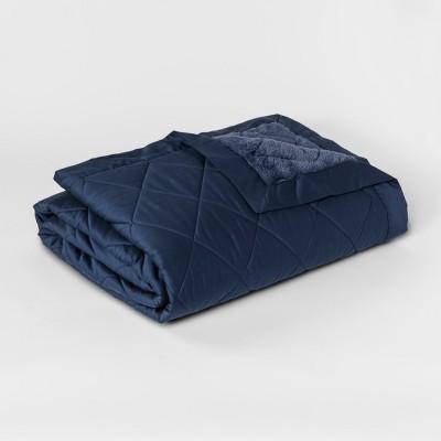 Blanket - Navy (Full/Queen)- Fieldcrest®