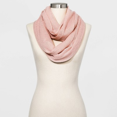 Women's Infinity Scarf - A New Day™ Smoked Pink One Size