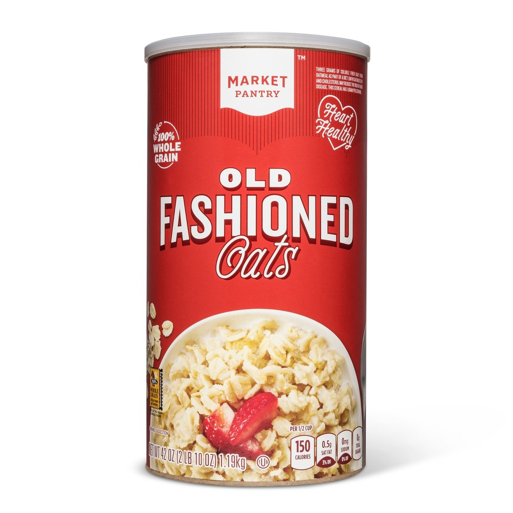 Old-Fashioned Oats - 42oz - Market Pantry