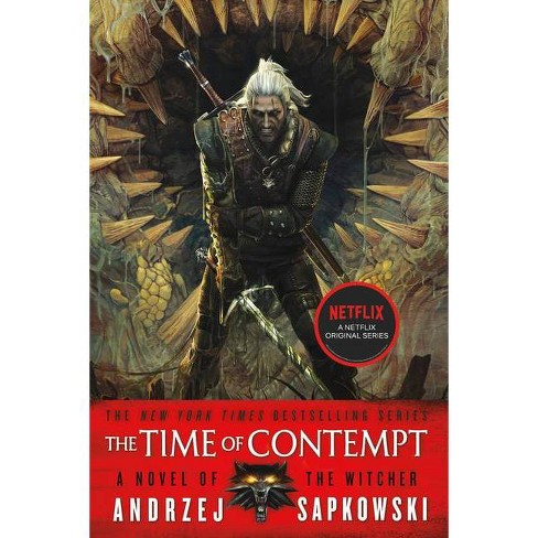 The Time Of Contempt - (Witcher) By Andrzej Sapkowski (Paperback ...