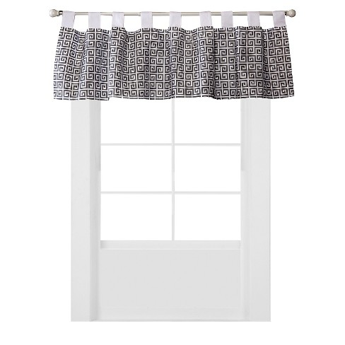 Trend Lab Window Valance - Gray Greek Key - image 1 of 2