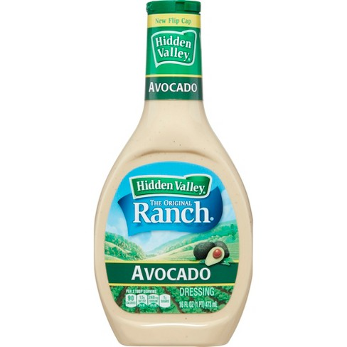 Hidden Valley Avocado Ranch Salad Dressing & Topping - Gluten Free - 16oz Bottle - image 1 of 6