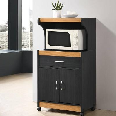 Hodedah Microwave Cart Target