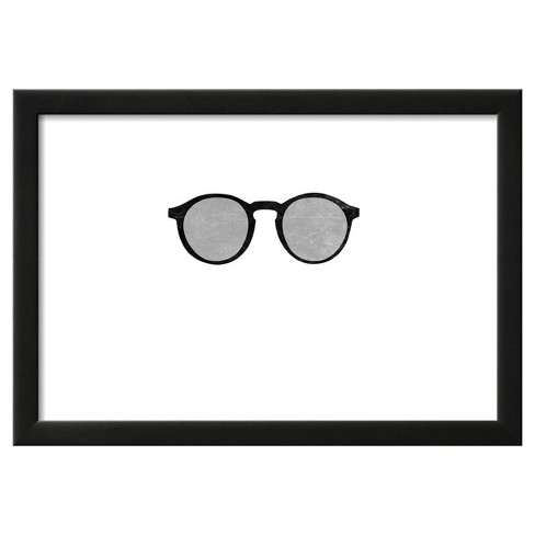 "Cool Glasses by Sd Graphics Studio Framed Poster 19""x13"" - Art.Com - image 1 of 4"