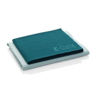 E-Cloth Window Cleaning Microfiber Cloth Set - Green - 2pc