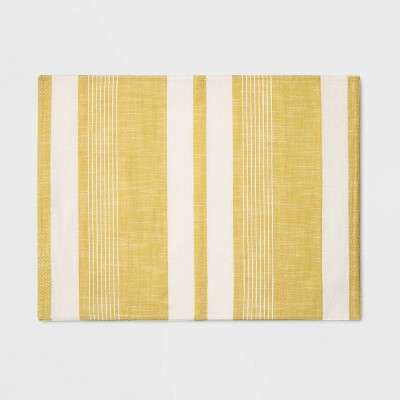 19 x14  Woven Stripe Placemat Yellow - Project 62™