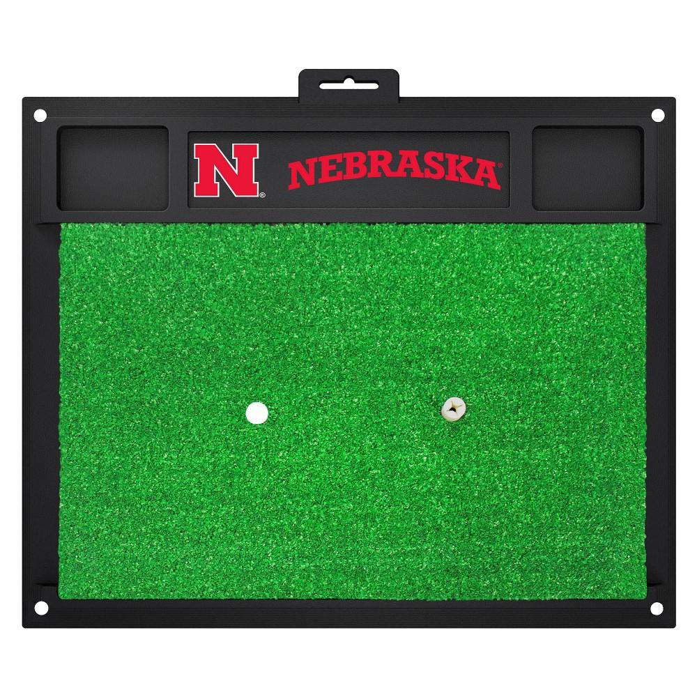 Nebraska Cornhuskers Fan mats Golf Hitting Mat