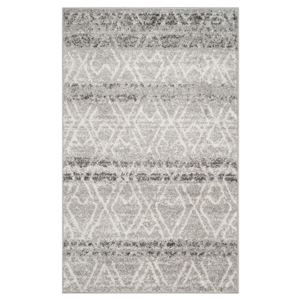 Adirondack Rug - Silver/Ivory - (3'x5') - Safavieh